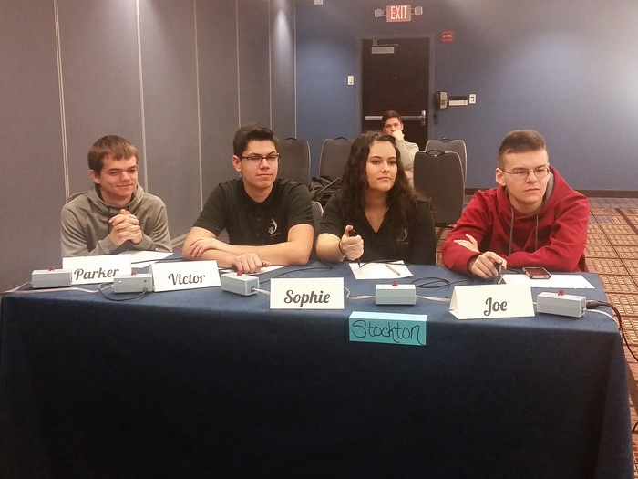 Scholar Bowl at Nationals in Chicago