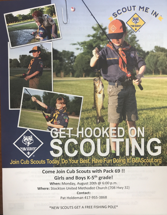 Get Hooked on Scouting