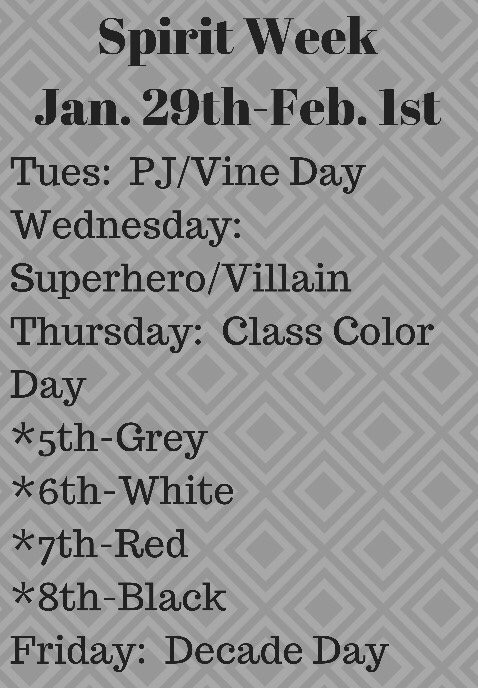 MS Spirit Week