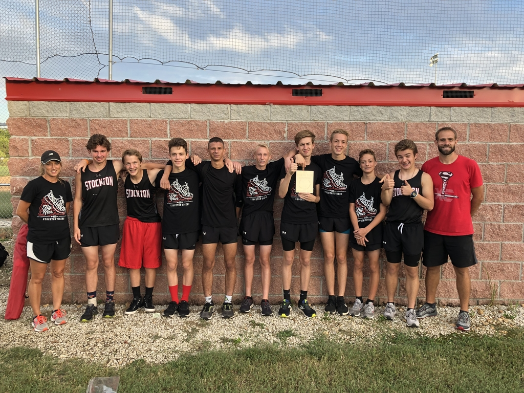 Stockton XC 1st place