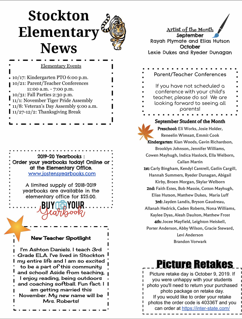 SES Newsletter October