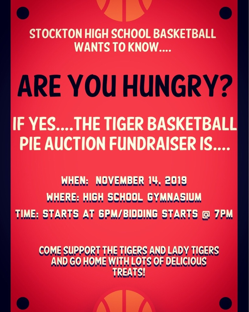 Pie Auction Flyer