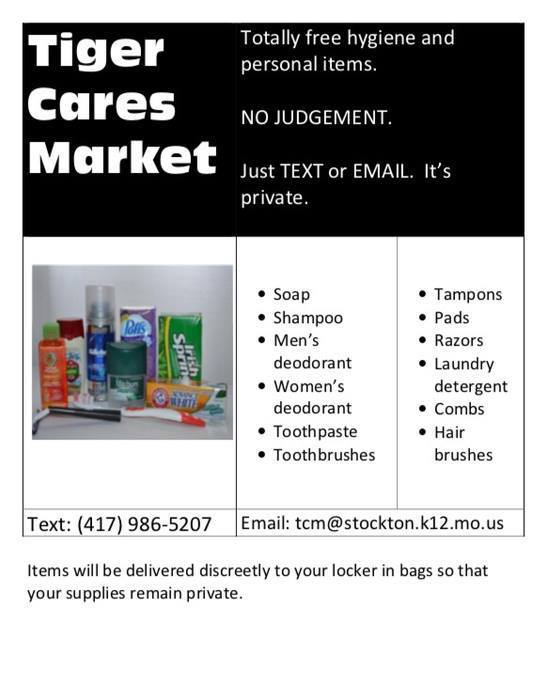 Tiger Cares Market
