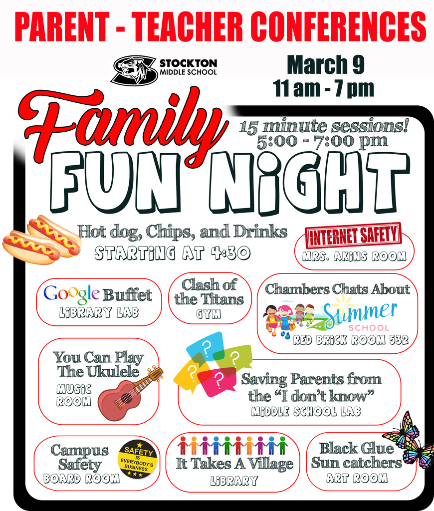 Family Fun Night Reminder
