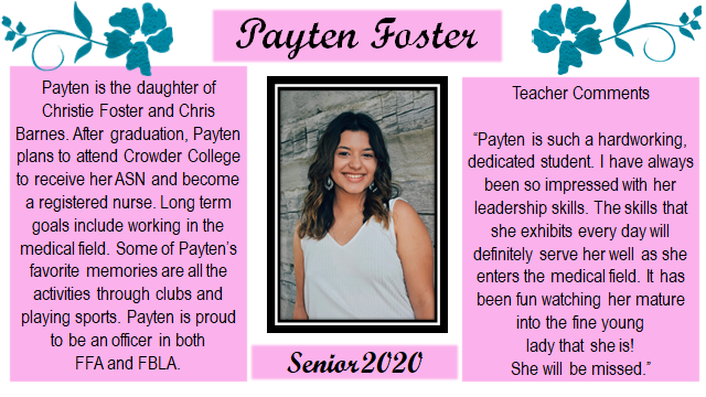 Payten senior spotlight
