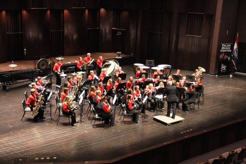 Stockton Tiger Band to perform at the 2018 Missouri Music Educators Association annual conference.